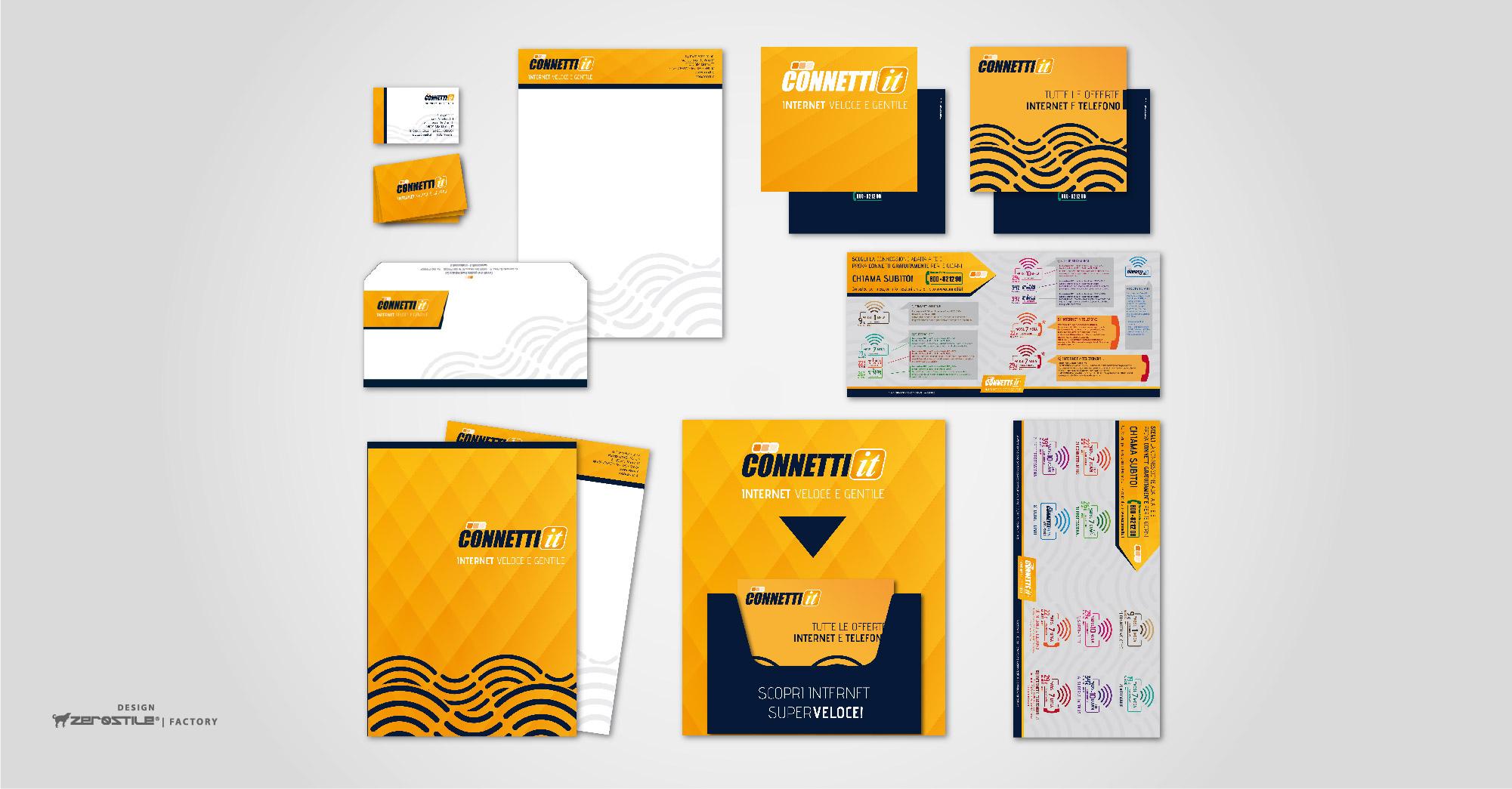 connetti_Brand Identity_Porfolio Gallery