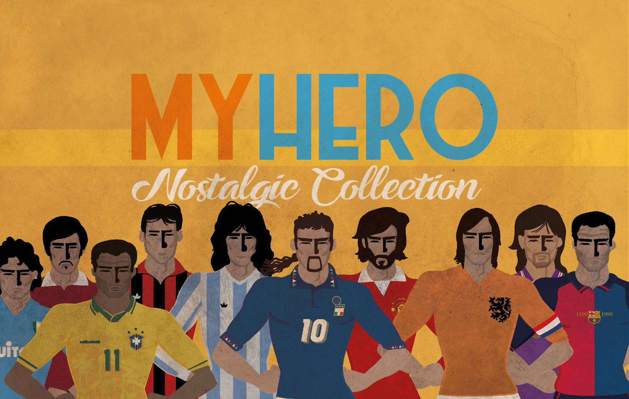 Collezione di Tshirt ed Accessori dedicata al calcio